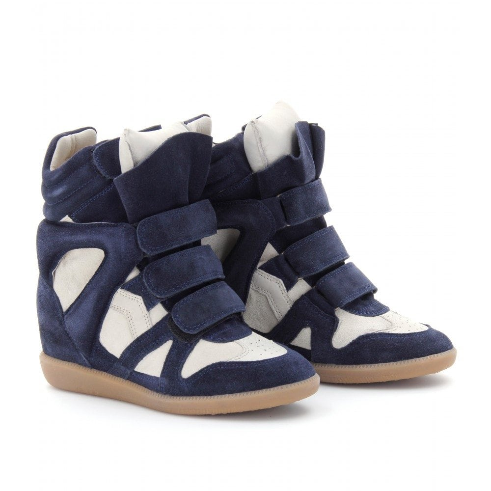 isabel marant 39 s luxe high top sneakers this island life. Black Bedroom Furniture Sets. Home Design Ideas