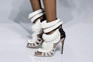 Kanye West x Giuseppe Zanotti | Pearl-beaded Heels