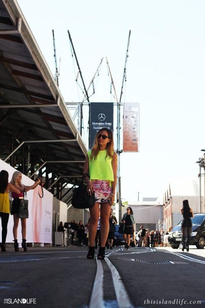 Laura McWhinnie | Mercedes-Benz Fashion Week Australia 2013