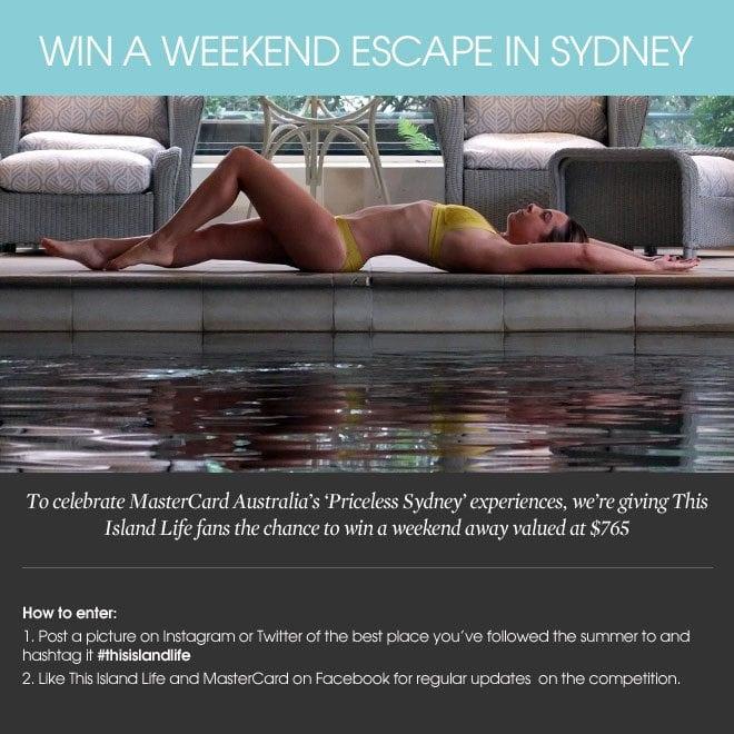 Win a weekend escape in Sydney