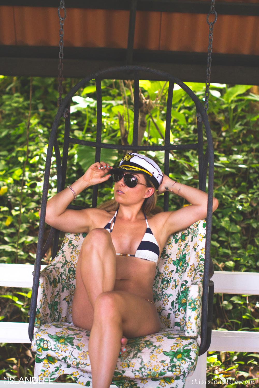 This Island Life   Nautical lines by Vix Swimwear