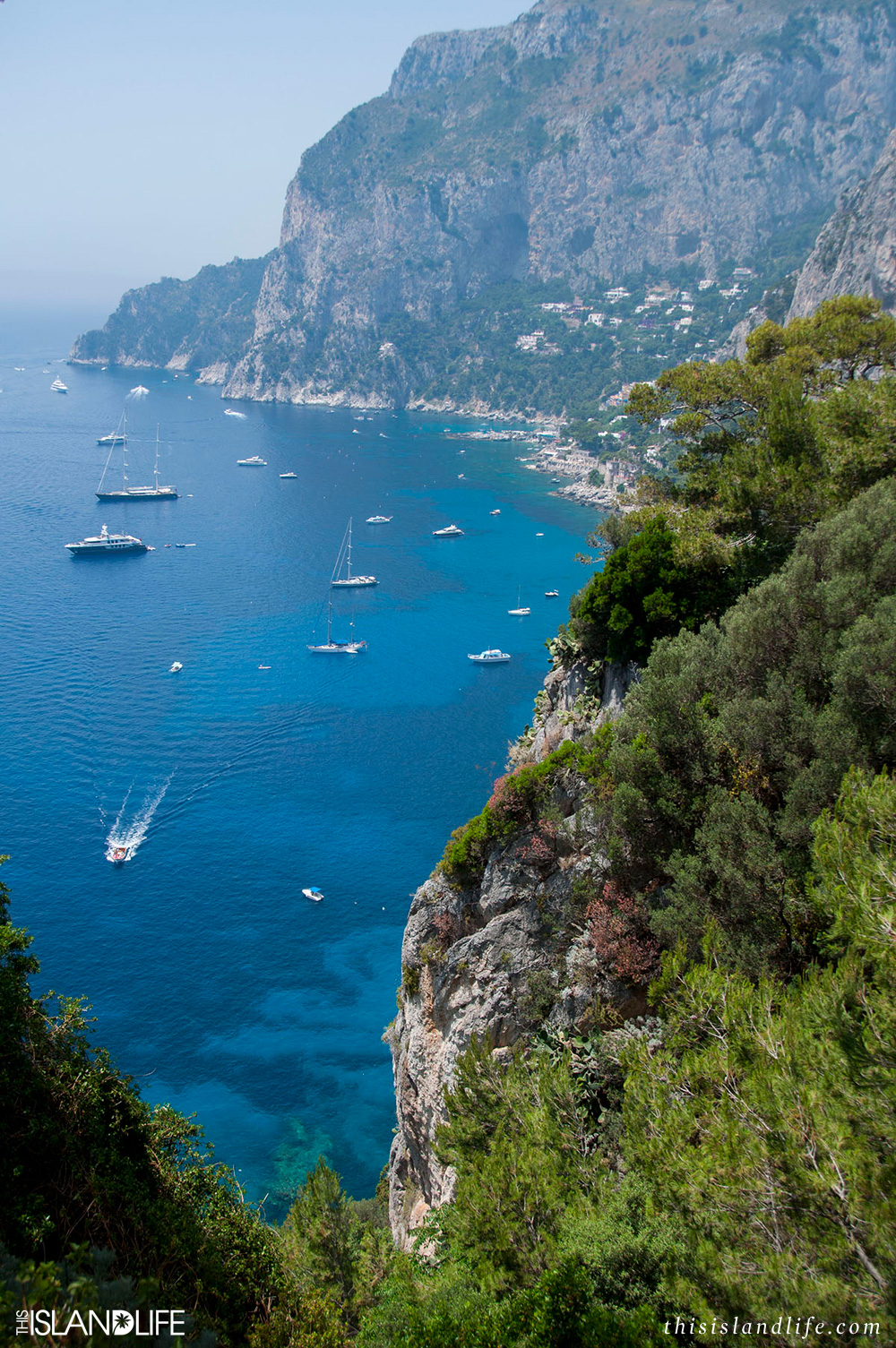 This Island Life | Exploring secret beaches in Capri, Italy