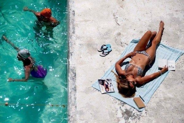 This Island Life   Bikini Love: Snow Leopard by Sundae Swimwear