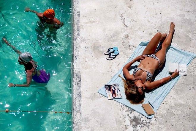 Bikini Love Snow Leopard By Sundae Swimwear This Island