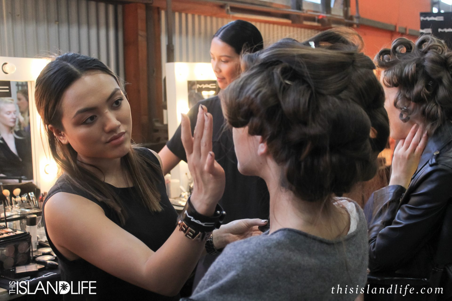 This Island Life | Mercedes Benz Fashion Week Australia Sydney - Backstage at Bec & Bridge