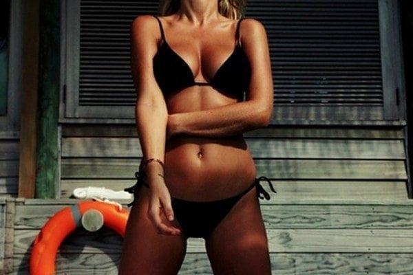 THIS ISLAND LIFE | Lara Bingle's top 10 little black bikini looks on Instagram