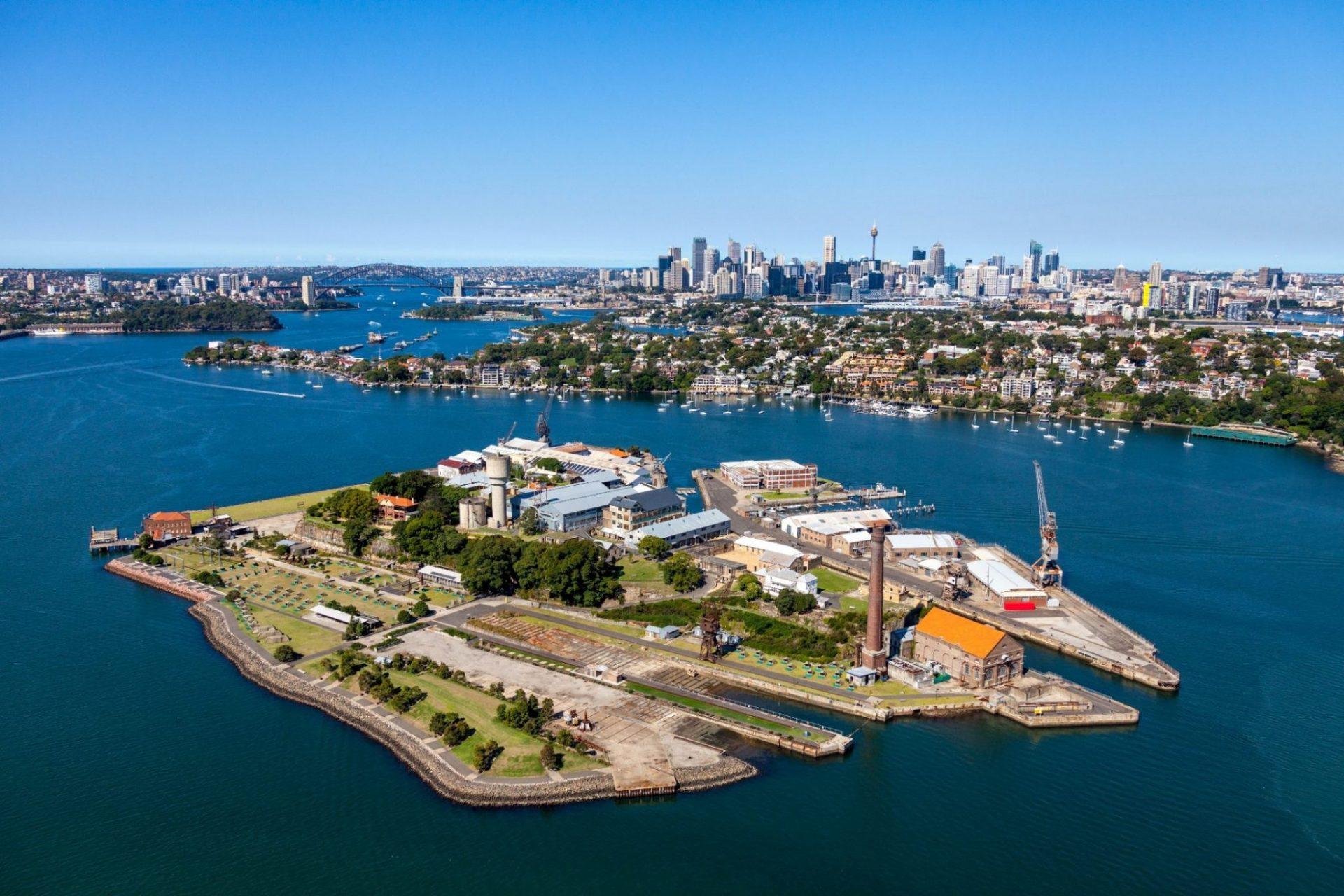 THIS ISLAND LIFE | Summer on Cockatoo Island in Sydney