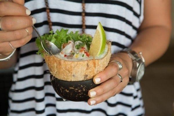 Fijian Kokoda recipe and method for raw fish, also known as 'Fijian Ceviche'.