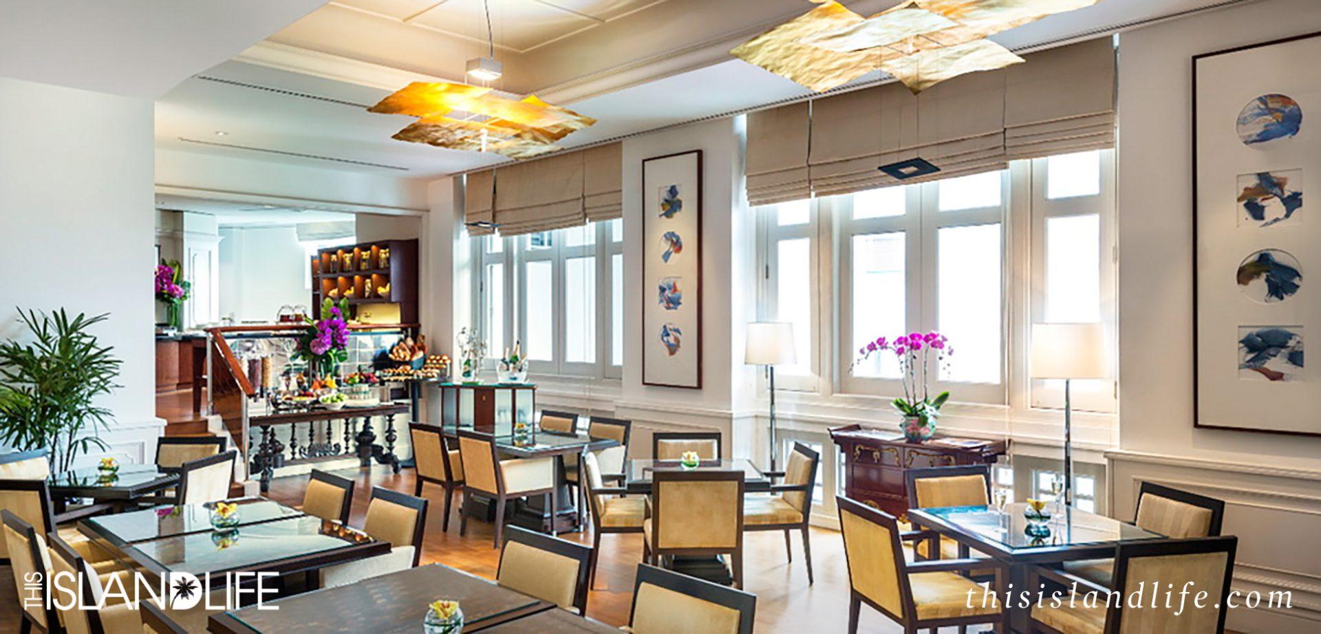 THIS ISLAND LIFE | The Fullerton Hotel, Singapore