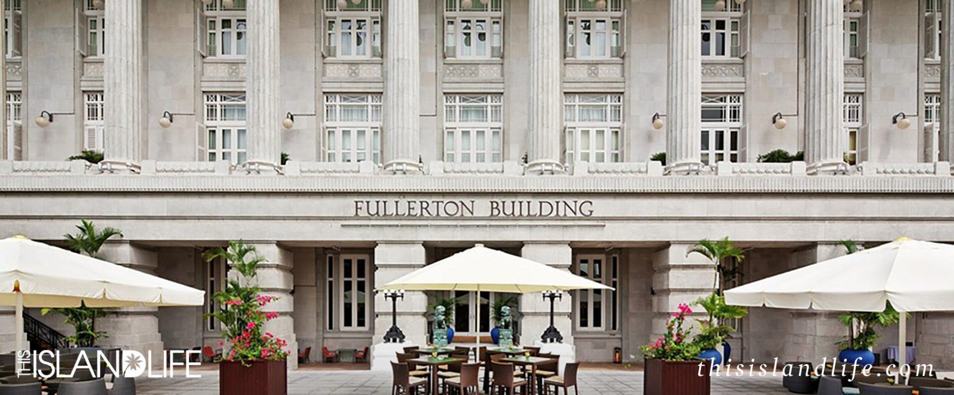This island life the fullerton hotel singapore