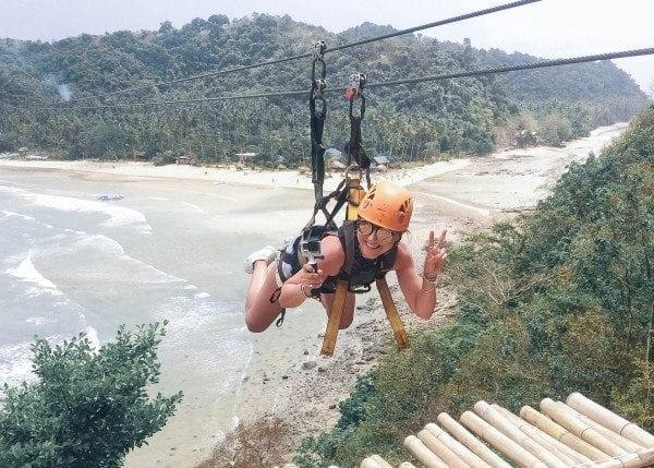 This Island Life | Island to island ziplining in El Nido