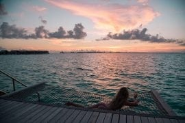 Travel blogger Laura McWhinnie from This Island Life shares her Our top 11 bikini destinations from 2017 including the Maldives.